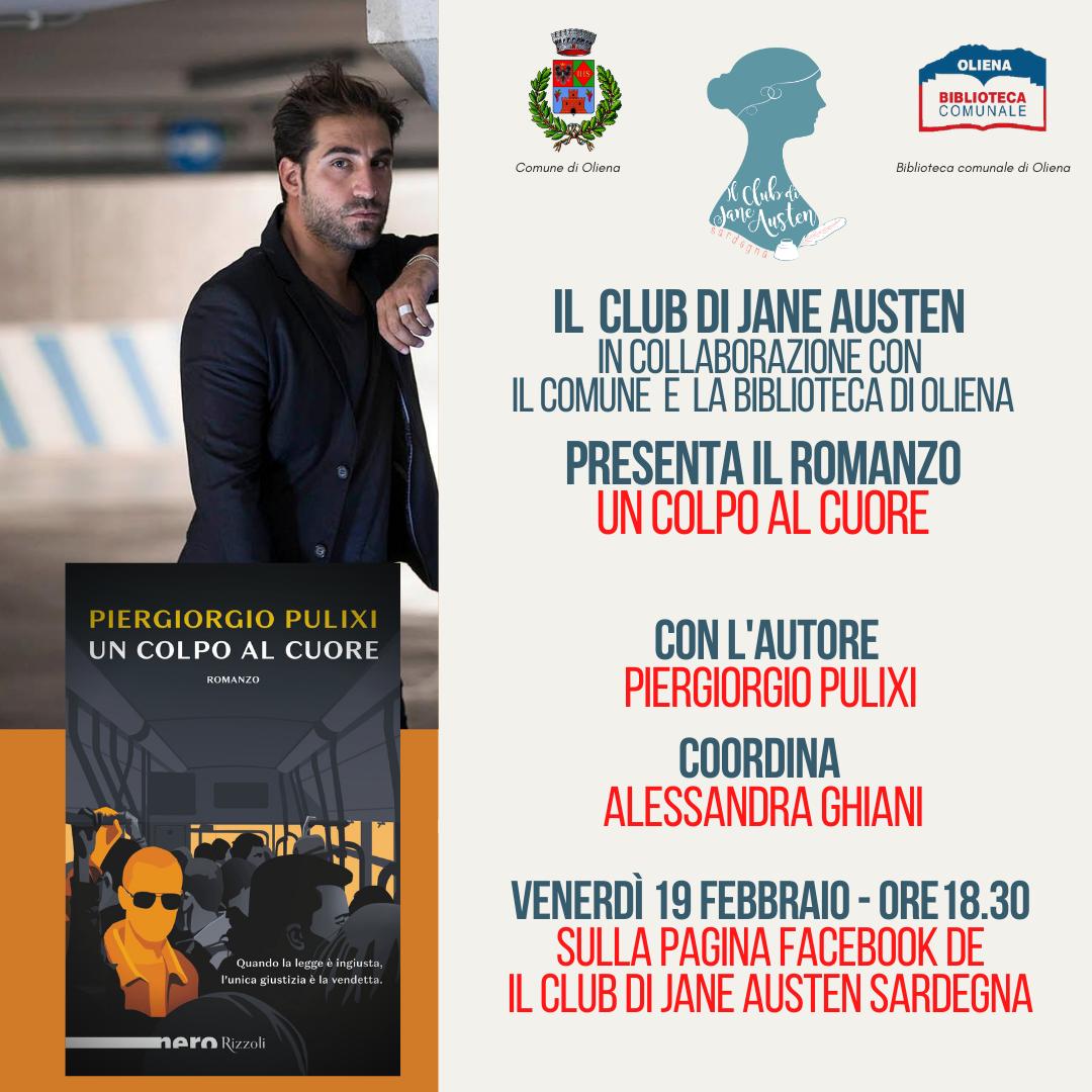 """""""Un colpo al cuore"""", il nuovo romanzo di Piergiorgio Pulixi"""