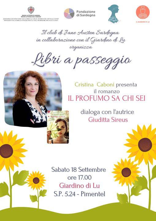 Cristina Caboni e il Club al Giardino di Lu